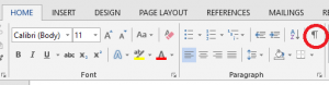 change the orientation of one page in Word - cleanup