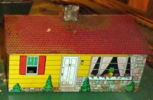 Yellow Skyline house