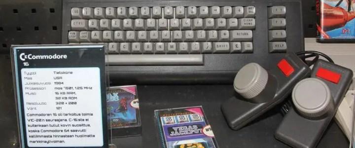 Commodore 16 and Commodore Plus/4
