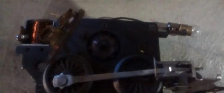 Repair a Lionel train motor