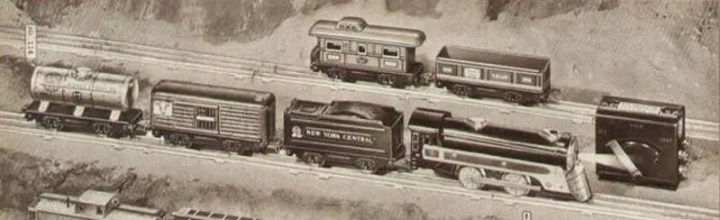 sizes of Marx trains