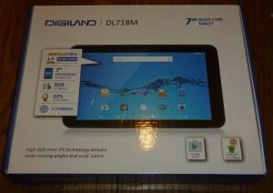 Digiland tablet box