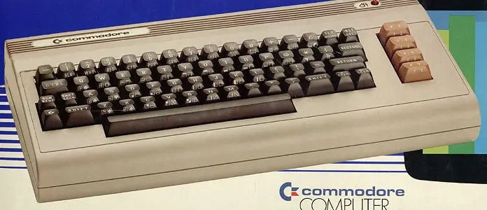 The silver label Commodore 64