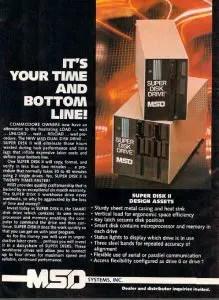 Commodore 1541 vs clones: MSD Super Disk