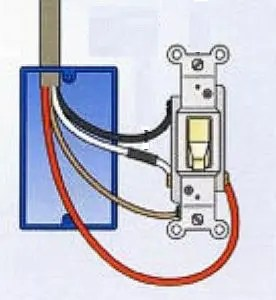 where to connect the red wire to a light switch the silicon wiring a switch where to connect the red wire to a light switch