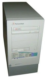 Packard Bell was one of the more common 90s computer brands