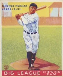 How Many Baseball Cards Goudey Sold The Silicon Underground
