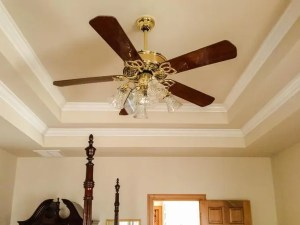 Wire a ceiling fan with light to one switch