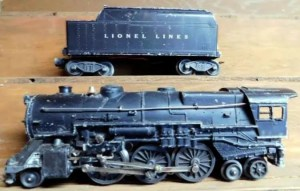 cleaning Lionel trains