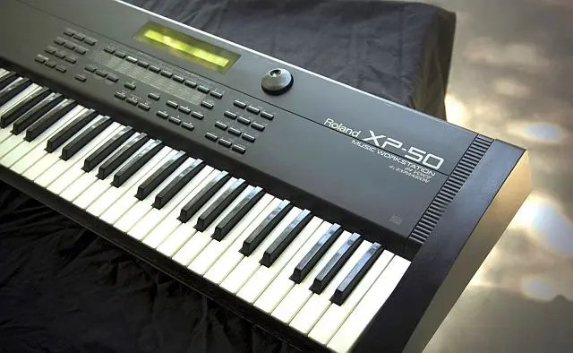 Roland XP 50 with no sound