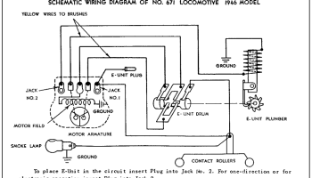 A Lionel e-unit wiring diagram - The Silicon Underground on