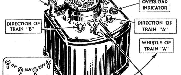 The Lionel KW transformer