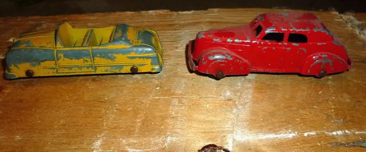 Restoring Tootsietoys and other early diecast vehicles