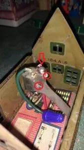 Lionel 184 bungalow wiring