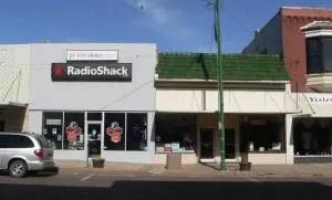 Radio Shack retail location in Nebraska