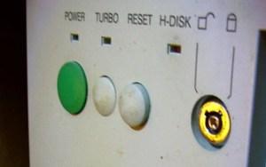 PC turbo button