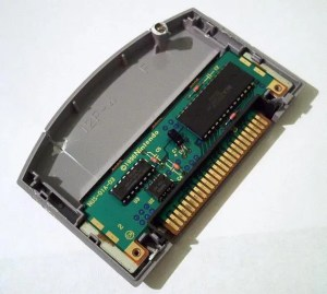 Nintendo 64 game cartridge internals