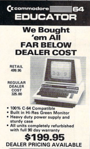 The Educator 64 is one of the rarer Commodore 64 models