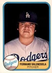 1981 Fleer Baseball - Fernando Valenzuela