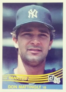 Most valuable baseball cards of the 1980s: Don Mattingly