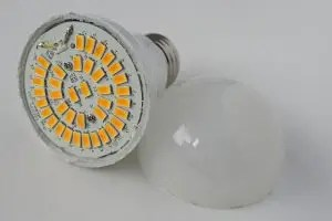 LED light bulbs don't break like other bulbs
