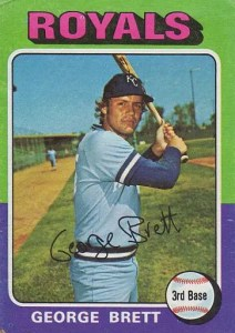 George Brett rookie card value