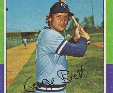 George Brett rookie card value