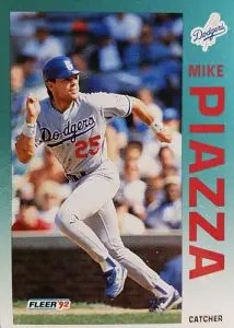 most valuable baseball cards of the 1990s - Mike Piazza