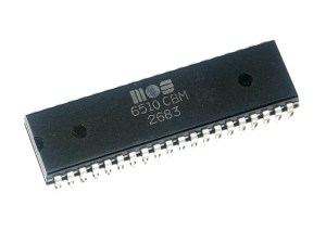 Commodore 64 CPU: MOS 6510