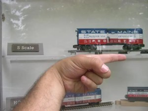 sizes of model trains: S scale