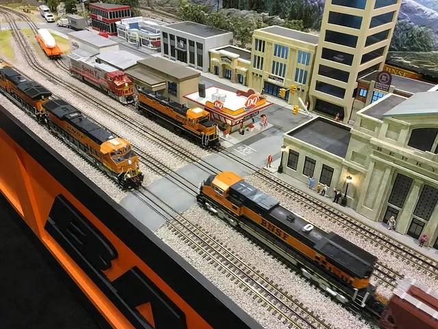hi rail in model trains