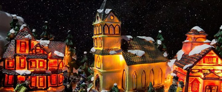 Christmas village set up tips
