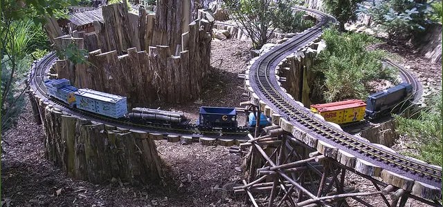 How big is a G scale train?