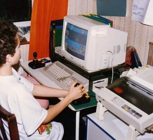 80s technology - Amiga home computer