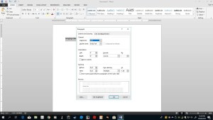 How to make a hanging indent in Word