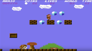 Super Mario Bros Commodore 64