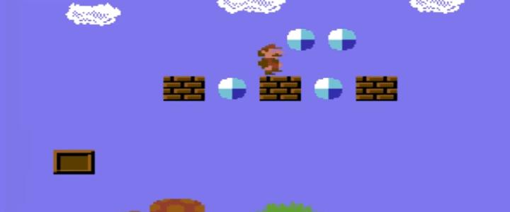 Super Mario Bros Commodore 64 version