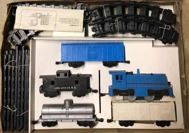 Rock Island toy train set