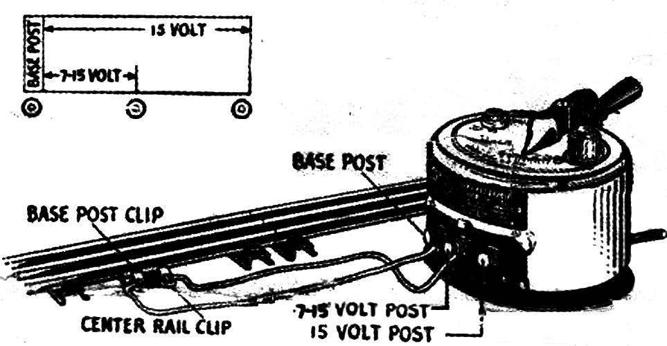 American Flyer transformer wiring diagram