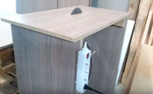 making a table saw from a circular saw
