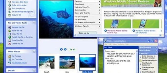 Windows ME vs Windows XP