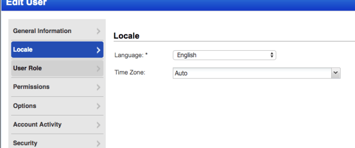 Qualys showing the wrong time in its user interface