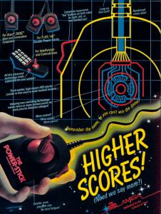 Amiga Power Stick ad