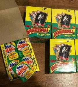 Baseball cards junk wax era