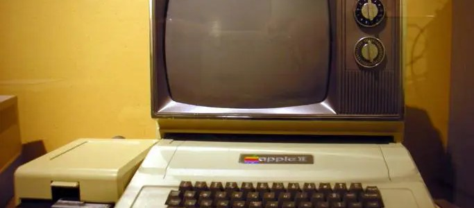 Connect an Apple II to a TV