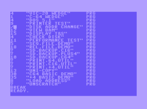 Epyx Fast Load commands