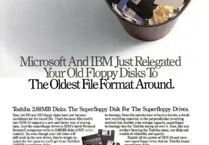What happened to 2.88 MB floppies?