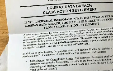 Making an example of Equifax