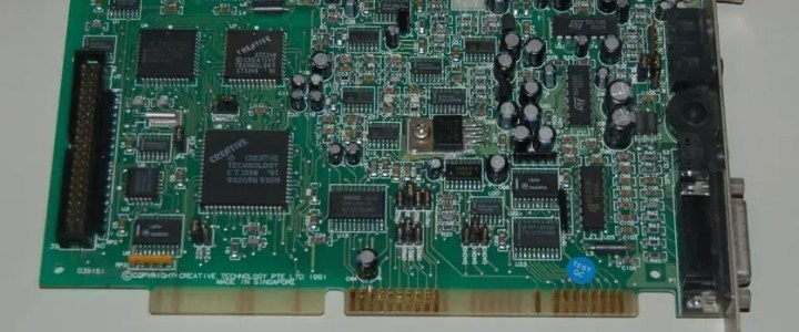 What does a Sound Blaster do?