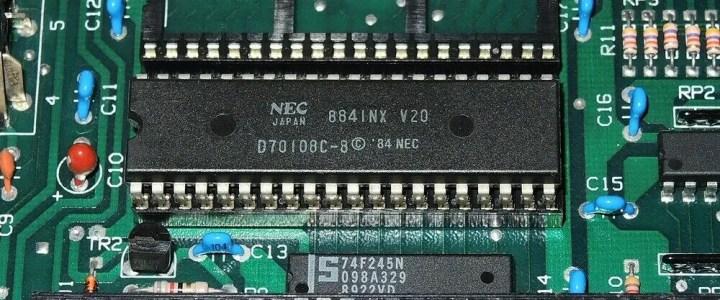 NEC V20 CPU: A bit of pep for an XT